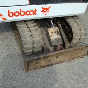 Used Bobcat tracks