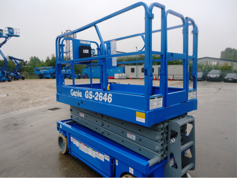 Used Genie scissor lift for sale