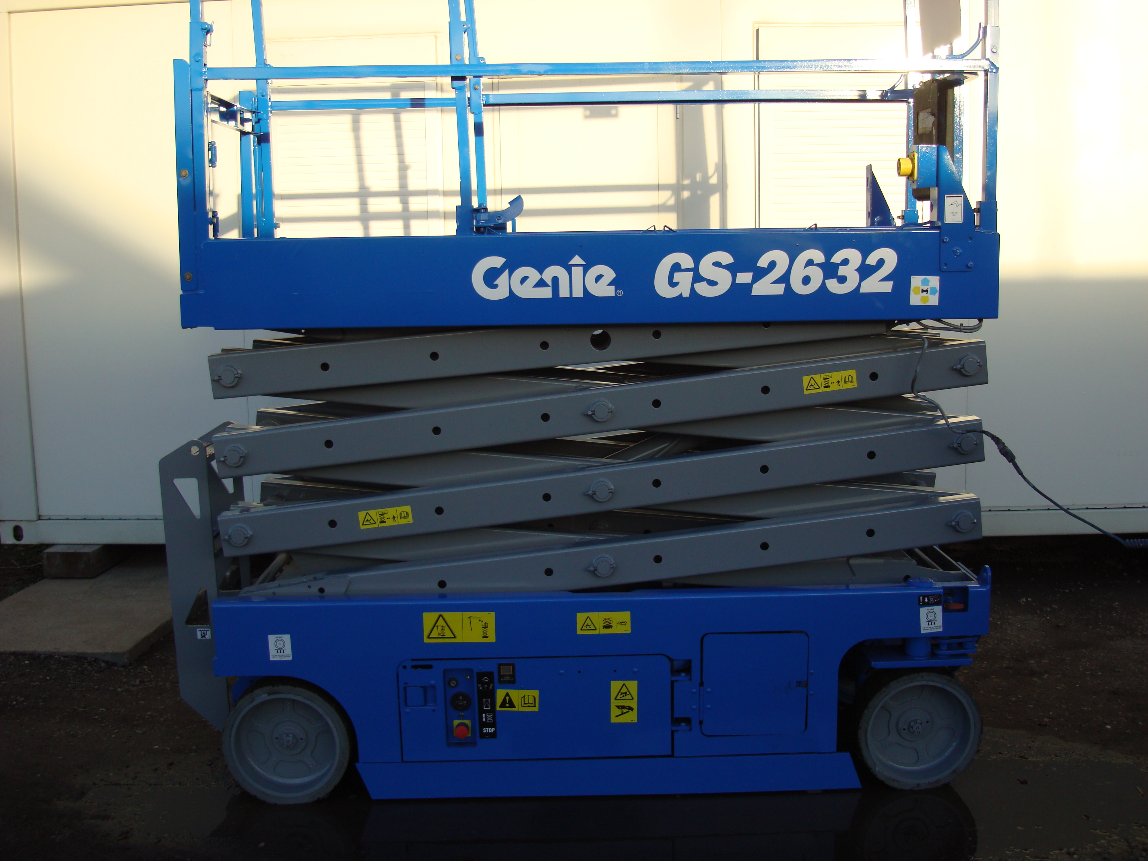 Blue Genie scissor lift for sale