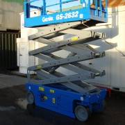 Used blue scissor lift for sale