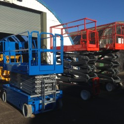 3 scissor lifts