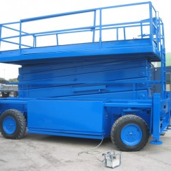 Large Used Scissor Lift